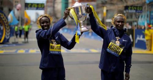 Marathon de Boston - Les Kényans Edna Kiplagat et Geoffrey Kirui remportent le marathon de Boston