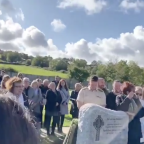 Man plays one last prank by pre-recording a message for his funeral: 'Let me out!'