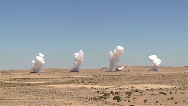 US, Jordan troops hold desert war games