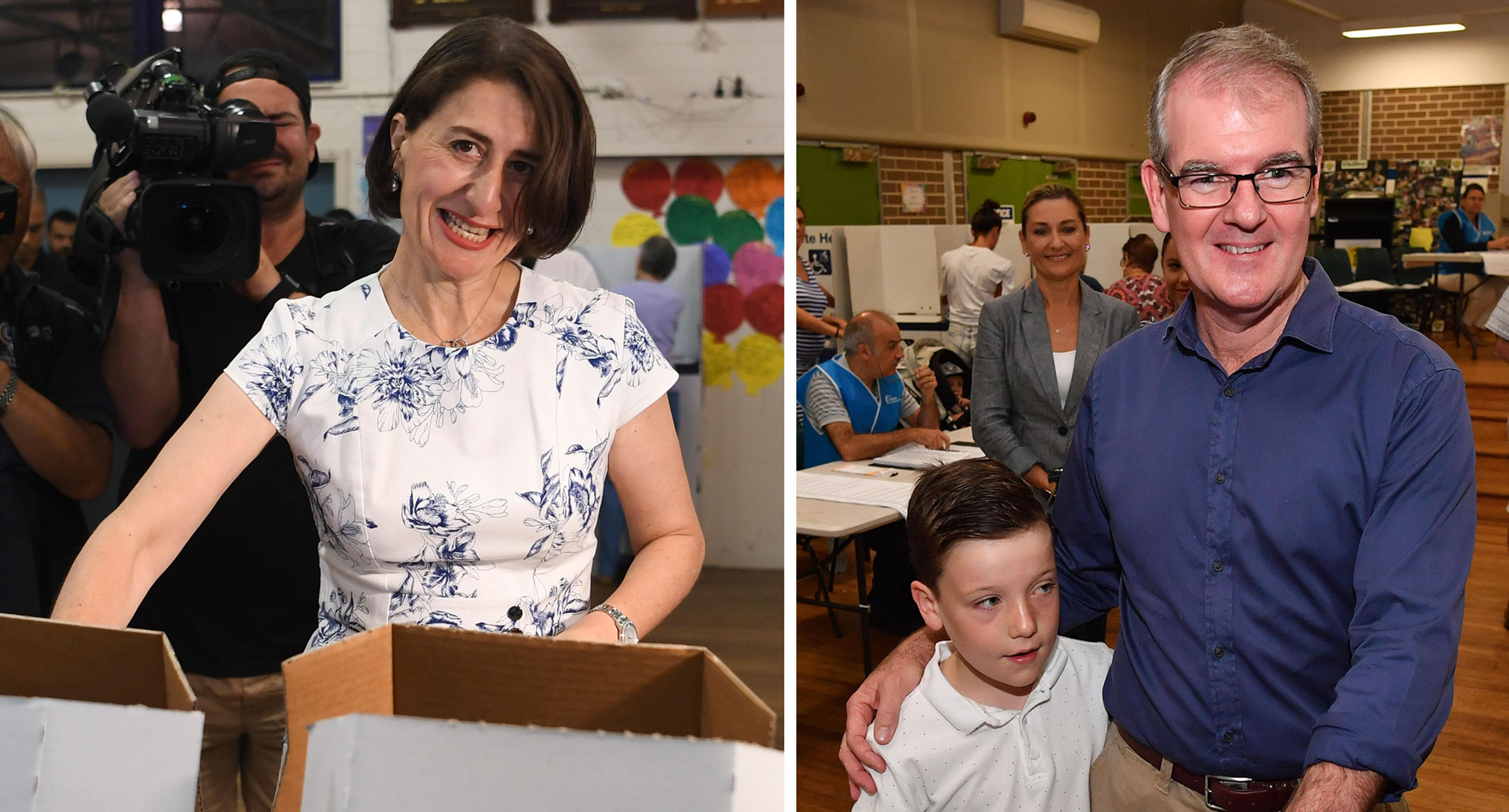 NSW election: Gladys Berejiklian leads coalition to win