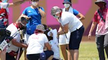 Archer collapses at Olympic qualifying