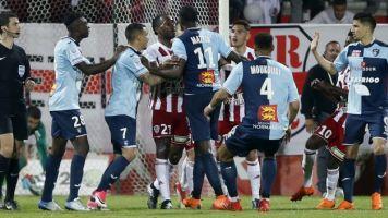 Ligue 2: les sanctions sont tombées pour Ajaccio après les incidents contre Le Havre