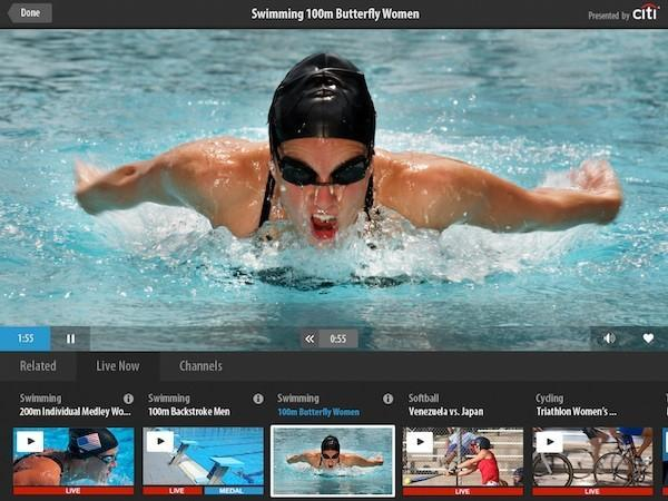 NBC's 2012 London Olympics second screen and streaming apps for Android and iOS launch today