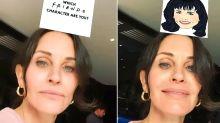 Courteney Cox Gets Herself in Viral Friends Instagram Filter: 'Finally Got Monica!'