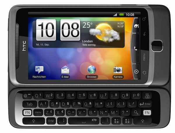 HTC Desire Z is the QWERTY slider your Android's been waiting for