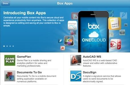 Connect by QuickOffice and Box OneCloud attack iPad file round-trip challenge
