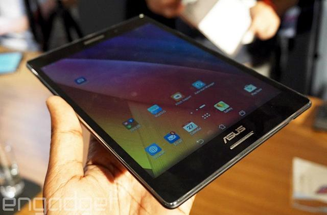 ASUS' slim and sharp ZenPad S tablet arrives in the US