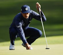 Rickie Fowler outside PGA cut line after stubbed tap-in