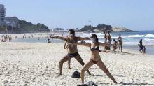 Rio tem taxa de isolamento de 55% na manhã ensolarada deste domingo