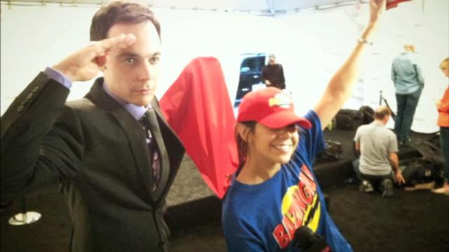 That Time We Dressed Up in a BAZINGA! Outfit to Interview the Cast of The Big Bang Theory!