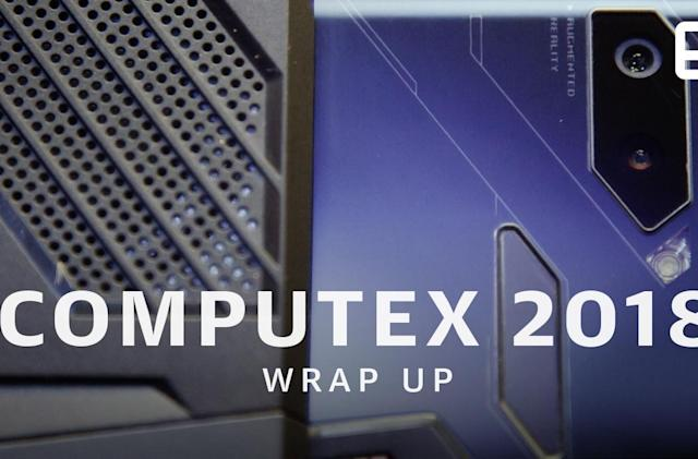Here's everything you missed at Computex 2018