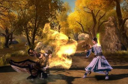 Here's the Villa of Beasts sect from Age of Wushu's expansion