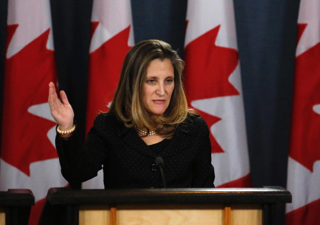 Canada's Foreign Minister Chrystia Freeland is calling for a transparent investigation into the disappearance of Saudi journalist Jamal Khashoggi