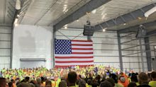 Trump visits ethane cracker being built in Beaver County