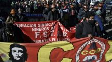 Morales supporters rally against Bolivia election delay
