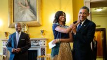 Obama photographer shares intimate images of family's time in White House