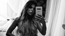 "Giovanna Lancellotti publica foto de topless: ""Pós bolo de chocolate"""