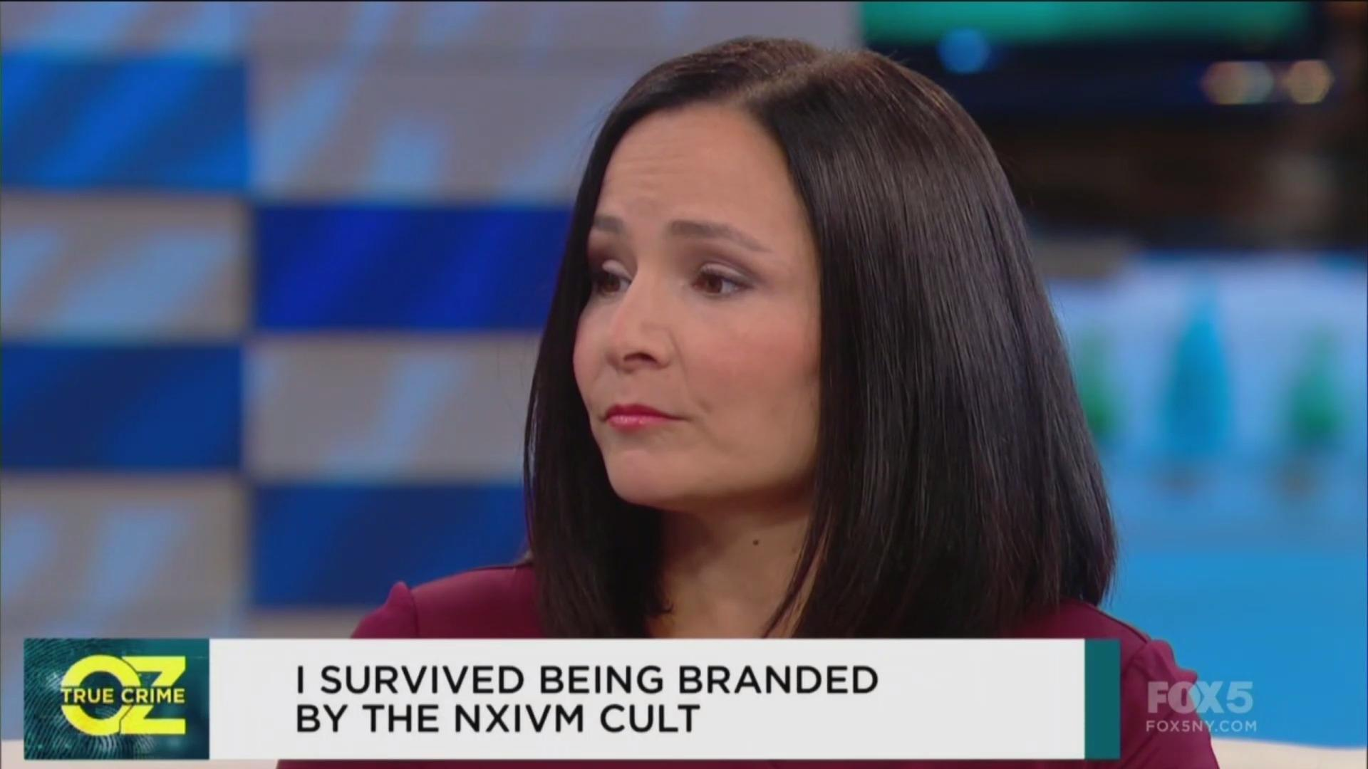 Actress Sarah Edmondson recalls being branded in 'horrific' Nxivm sex cult ritual and the 'smoky flesh burning' smell