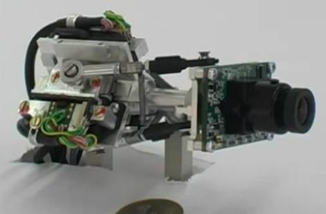 Speedy robo-cam mimics the movements of the human eye, exceeds them