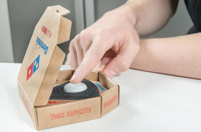 Domino's makes ordering pizza dangerous with 'Easy Order' button
