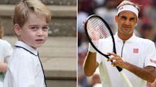 Kate reveals Prince George 'played tennis with Roger Federer'