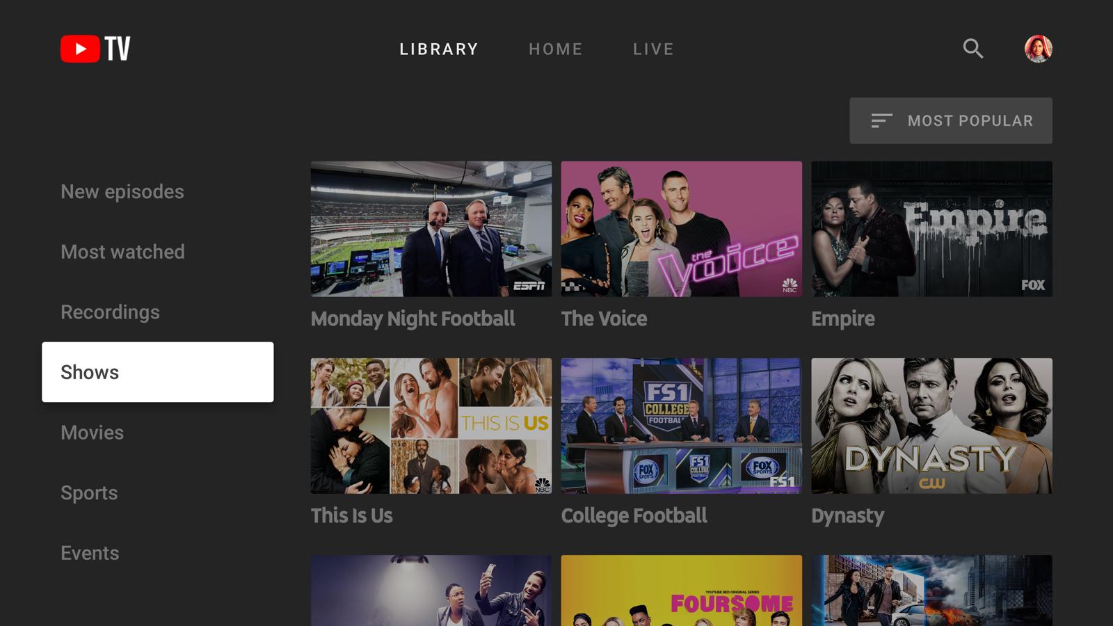 Youtube Tv App Arrives For Newer Samsung Smart Tvs Engadget