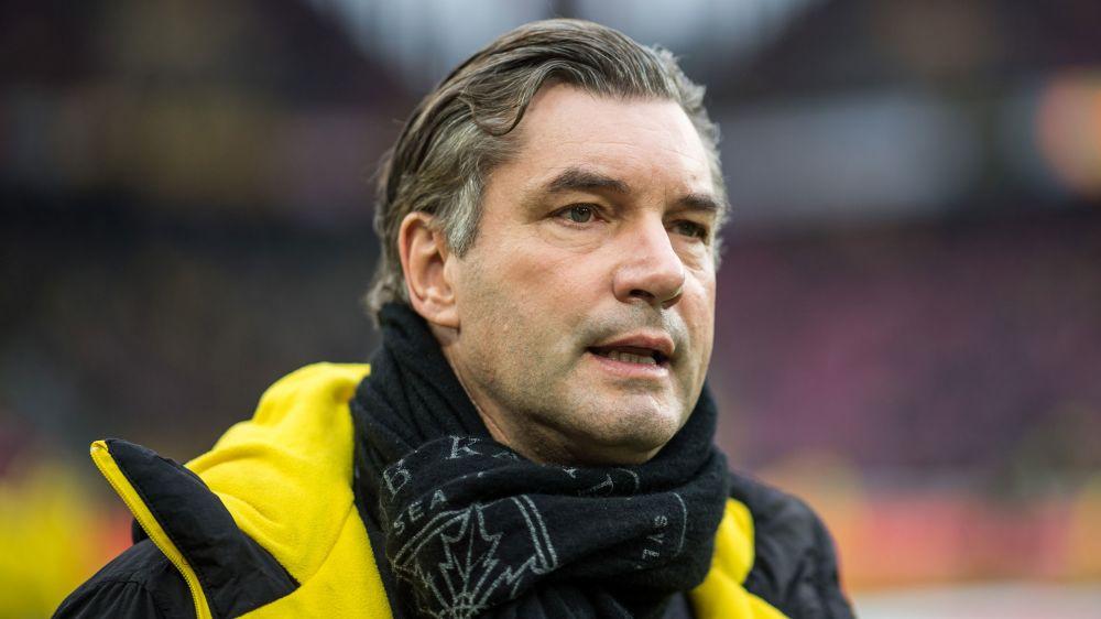 """Michael Zorc von Borussia Dortmund: """"Haben nicht alles richtig gemacht"""""""