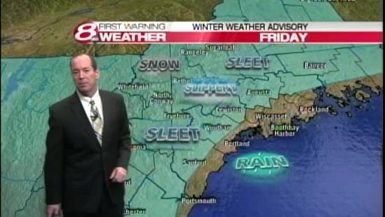 Roger's Thursday evening forecast