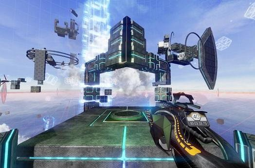 First-person platformer Deadcore is a sci-fi speedrun