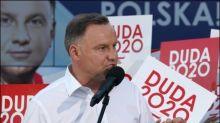 Polnischer Präsident Duda knapp wiedergewählt