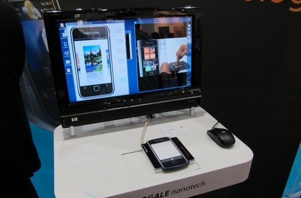Fogale Nanotech takes the 'touch' out of 'touchscreen smartphone' at CeBIT