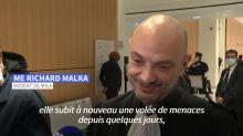 """Affaire Mila: """"elle vit comme les gens de Charlie Hebdo, bunkerisée"""", selon son avocat"""