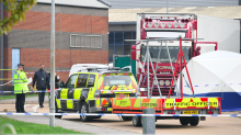 Lorry driver, 25, arrested on suspicion of murder after 39 bodies found in container