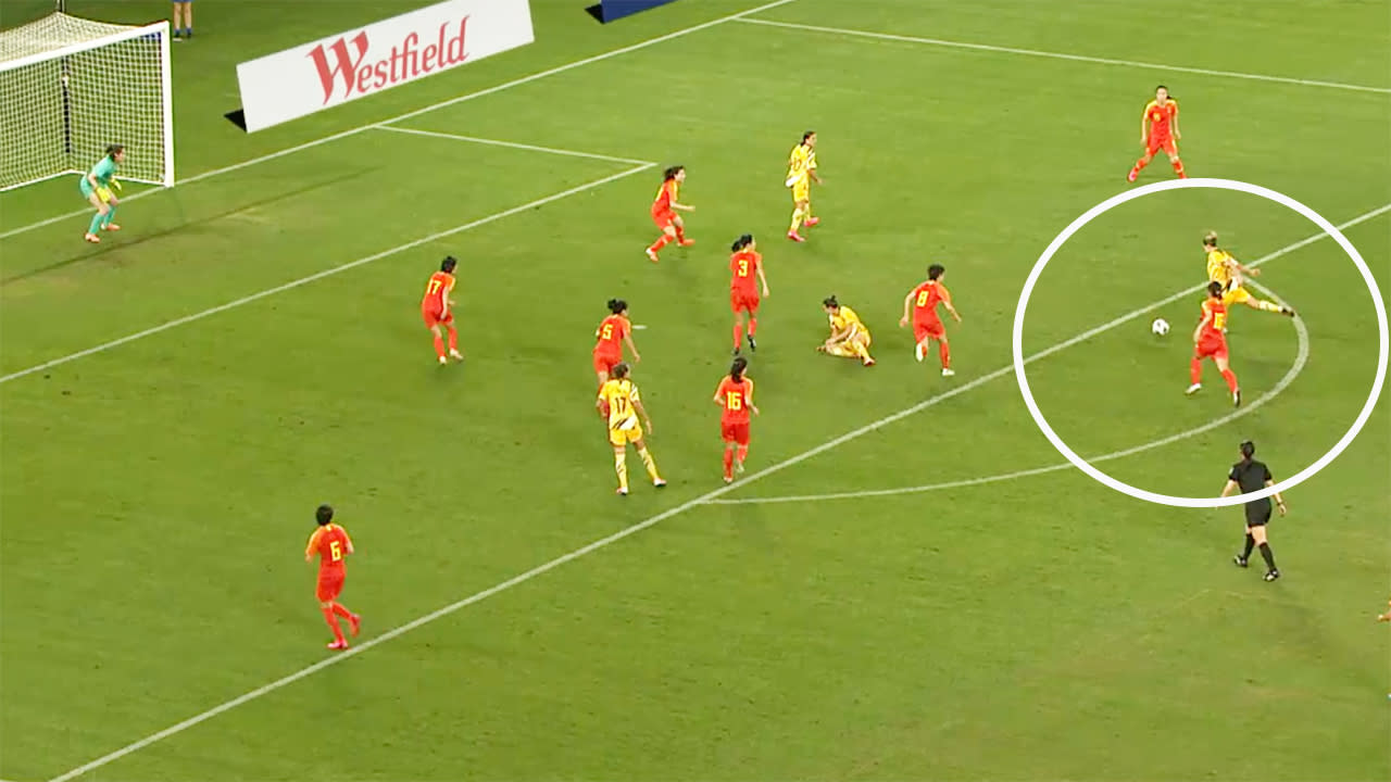 'Holy sh*t': Incredible late screamer saves Matildas against China