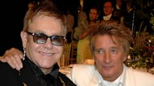 Rod Stewart and Elton John have made up after three-year 'money-grabbing' row