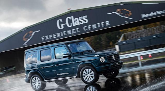 Mercedes-Benz will build an electric G-Class SUV