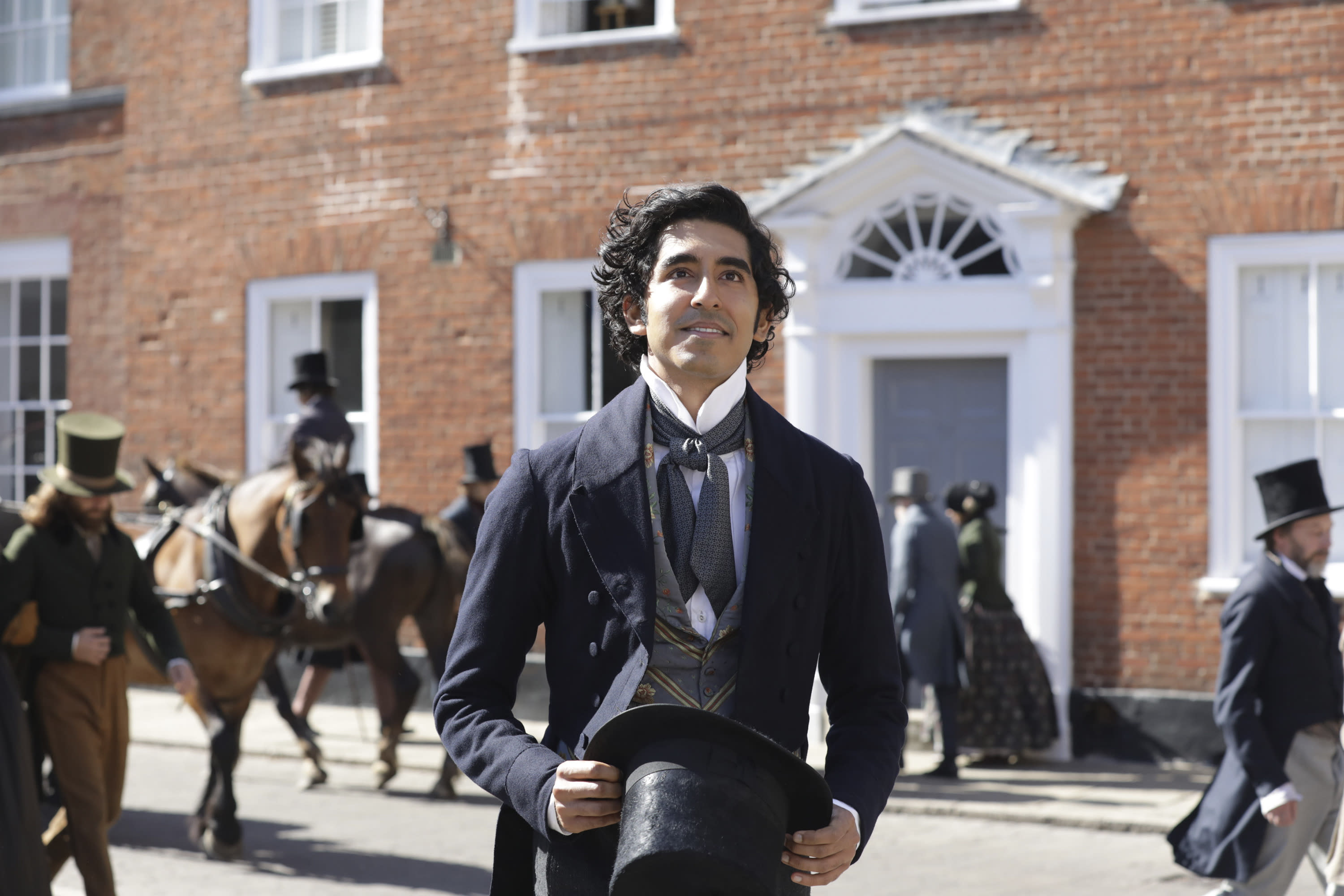 """This image released by Fox Searchlight Pictures shows Dev Patel in a scene from the film """"The Personal History of David Copperfield."""" (Dean Rogers/Fox Searchlight Pictures via AP)"""