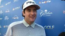 Bubba Watson interview after Round 1 of The Greenbrier