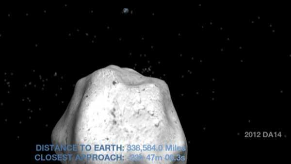 Asteroid flyby: Asteroid '2012 DA14' no big deal, NASA says