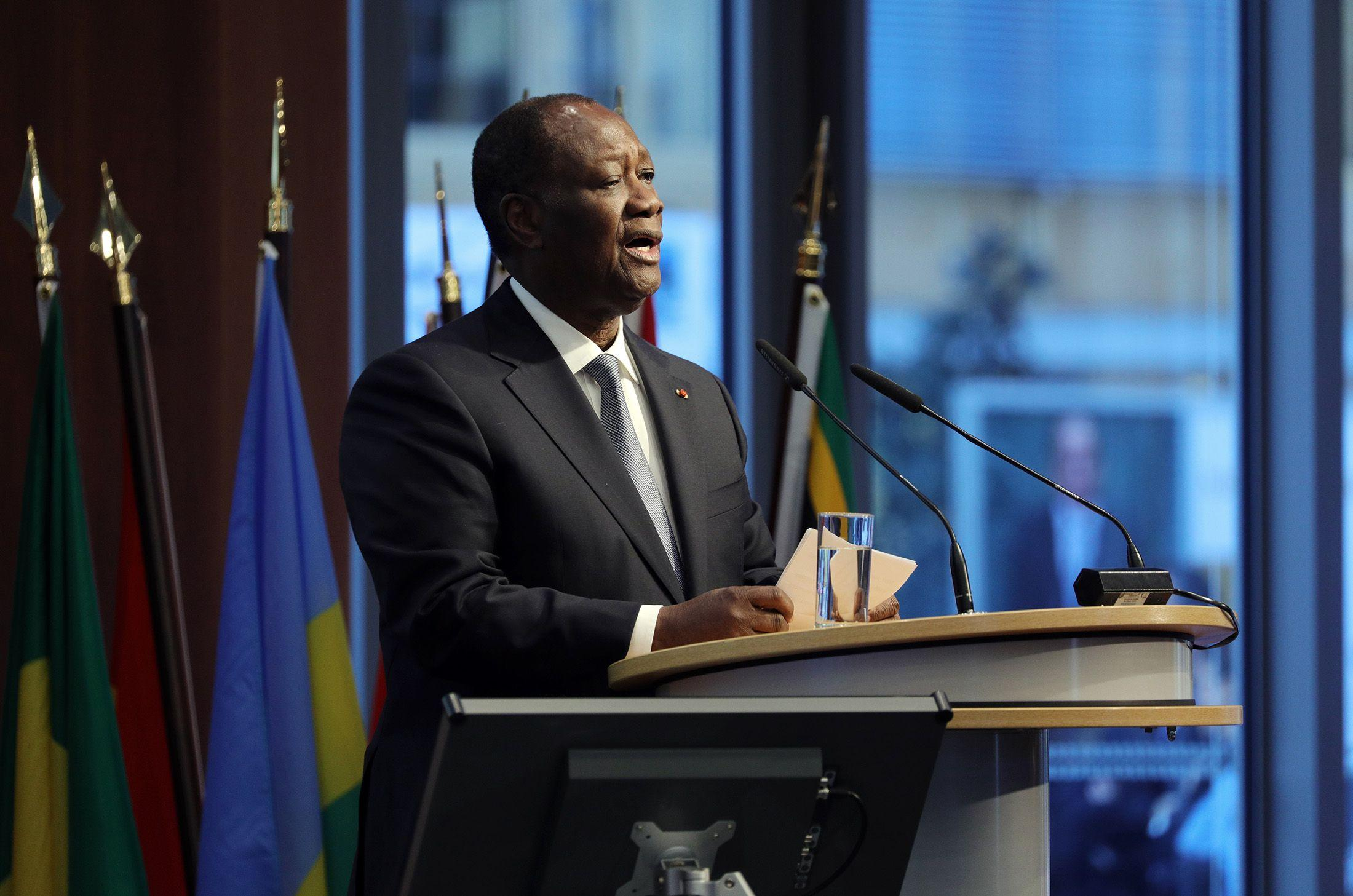 Ivory Coast Leader Vows to Keep Country Safe Ahead of Election