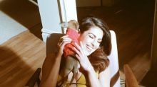 Priyanka Chopra is in a playful mood with her pet Diana in this picture