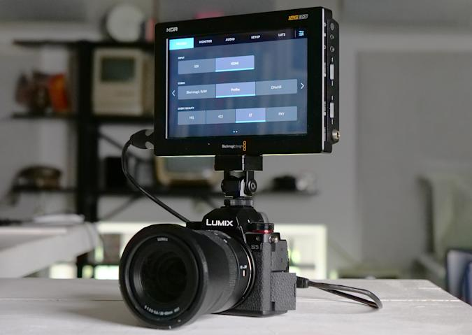 Panasonic is adding 5.9K Blackmagic RAW video to the S5 and S1