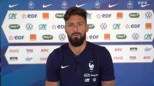 """France - Giroud : """"Camavinga nous bluffe par sa maturité"""""""