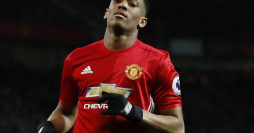 Foot - ANG - MU - MU : Anthony Martial est remplaçant contre Middlesbrough