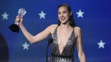 Gal Gadot es toda una Wonder Woman: su discurso en los Critics´ Choice te inspirará todo el día