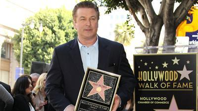 Alec 'Blown Away' By Getting Star On Walk Of Fame