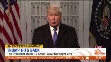 Donald Trump slams SNL sketch
