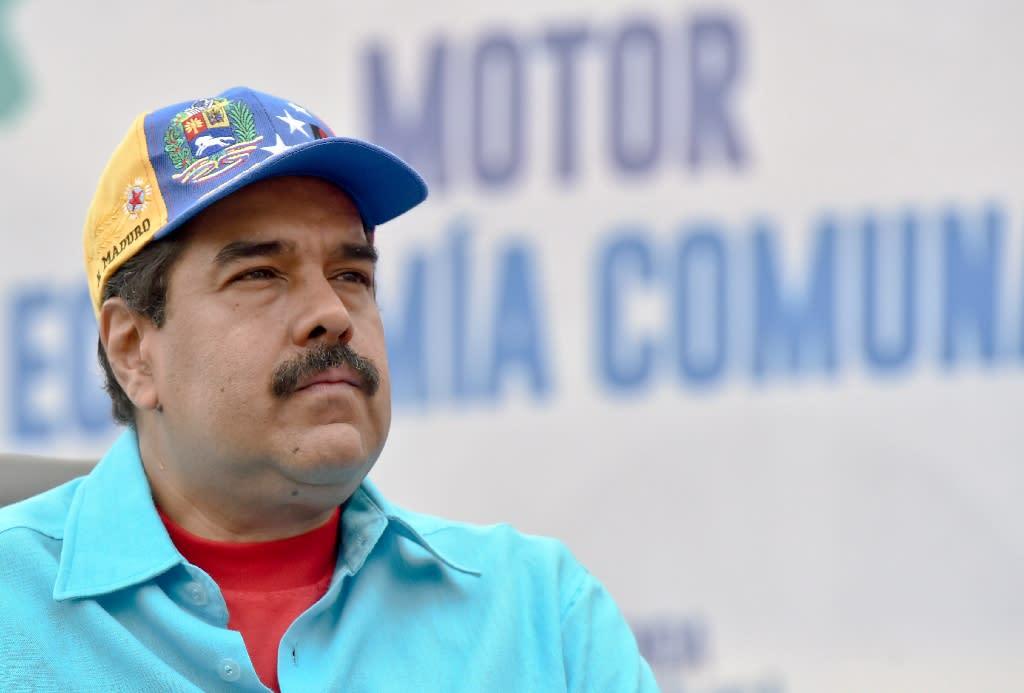Venezuelan President Nicolas Maduro has been in power since 2013 (AFP Photo/Juan Barreto)