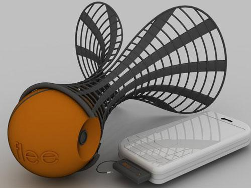 Flee digital camera concept promises to catch some air