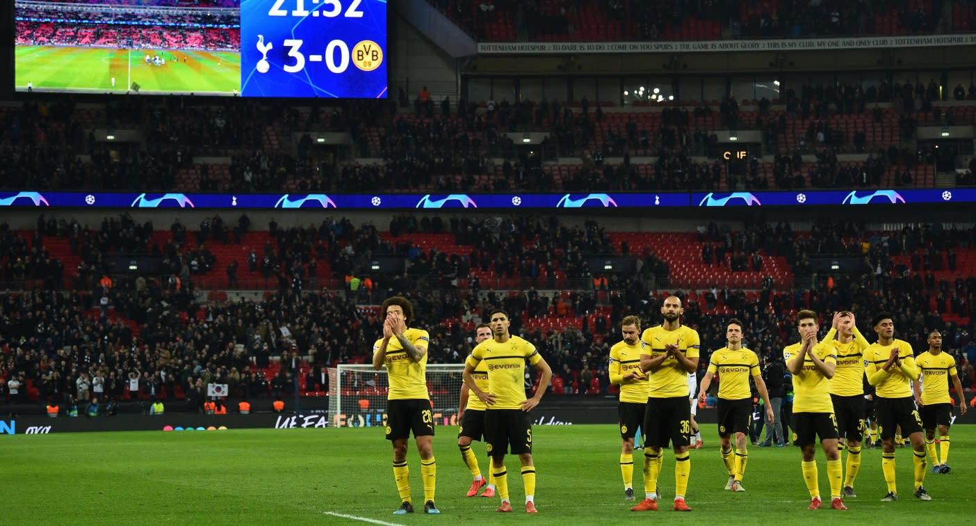 Tottenham Gegen Bvb: 0:3-Pleite Gegen Tottenham: Beim BVB Geht Plötzlich Die